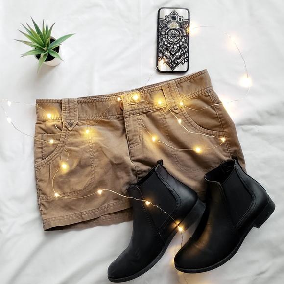 Mossimo Supply Co. Dresses & Skirts - Tan corduroy mini skirt